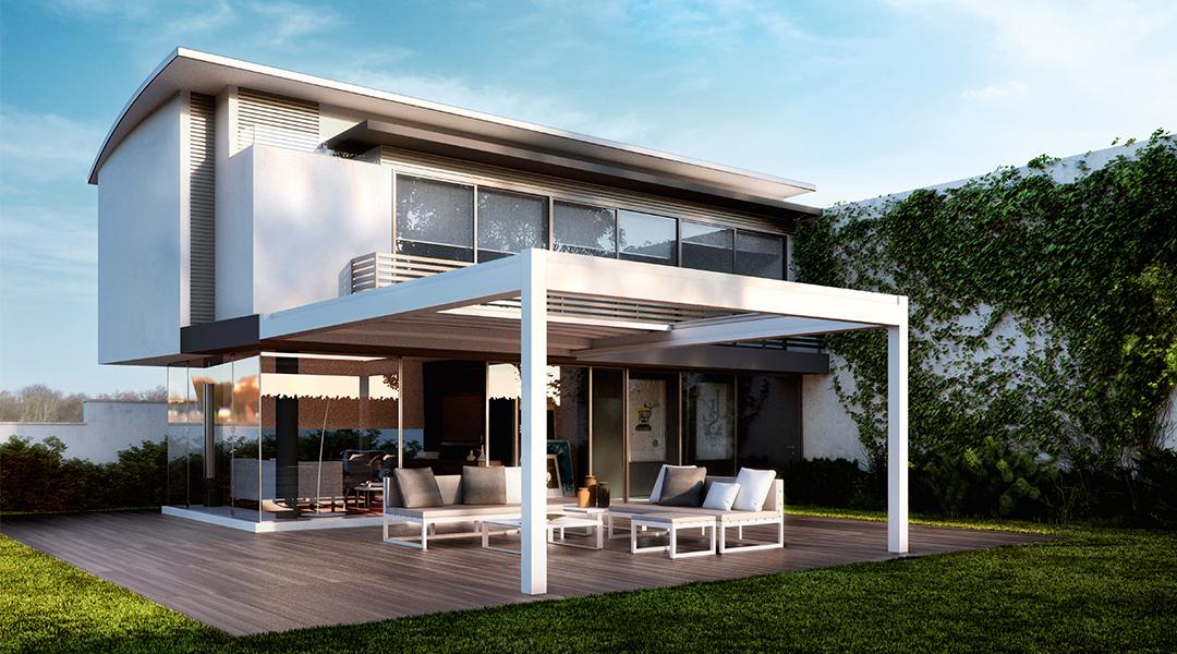 Outdoor Retractable Nomo Roof