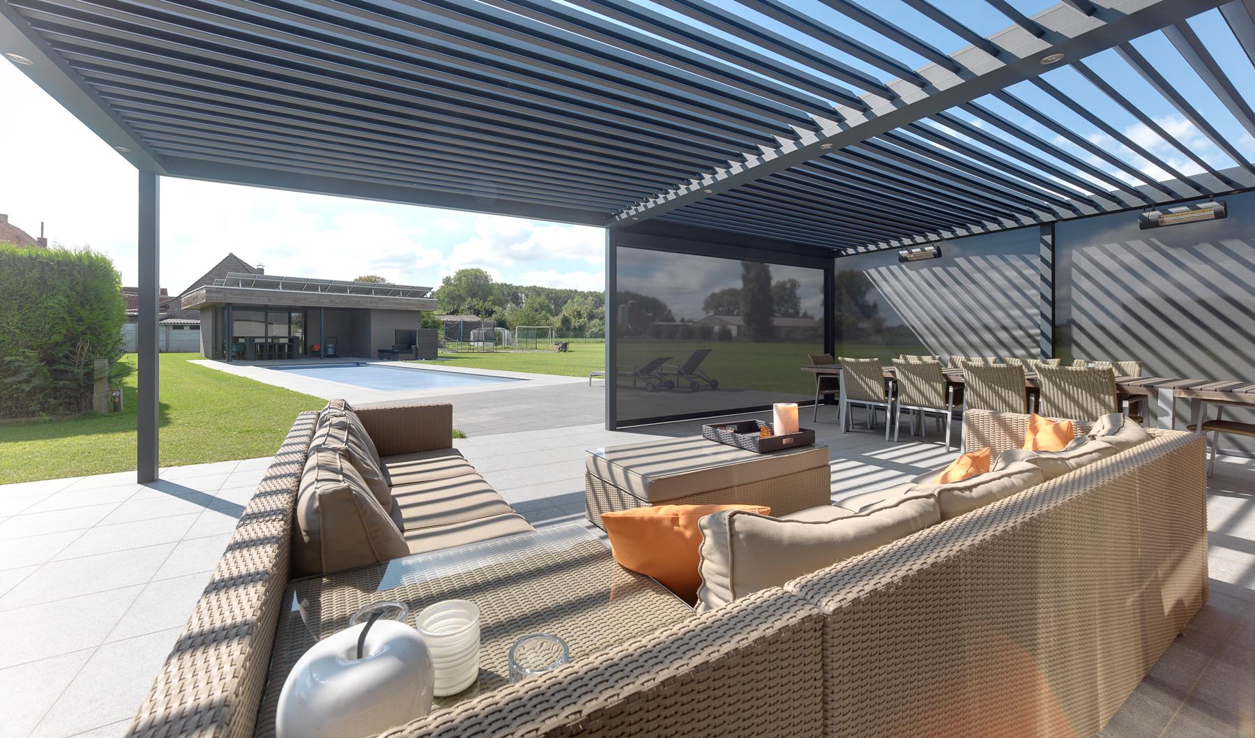 Umbris Patio Roof IQ Outdoor Living
