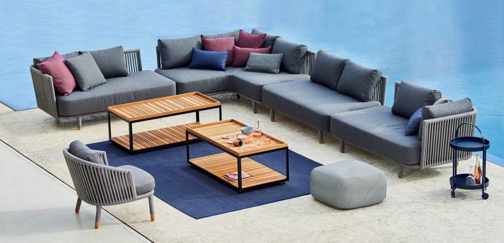 Cane Line Outdoor Corner Sofa