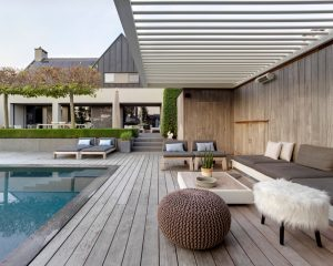 louvered patio roof
