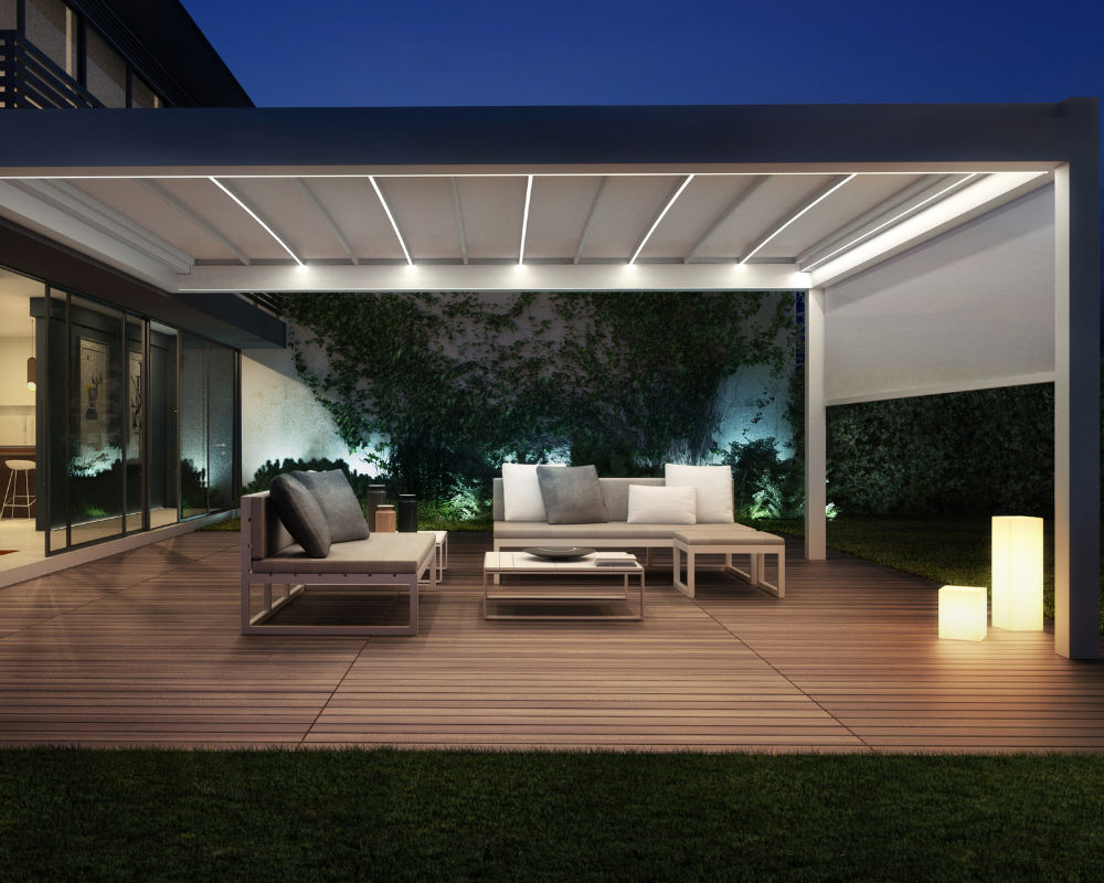 retractable awning by IQ Outdoor Living